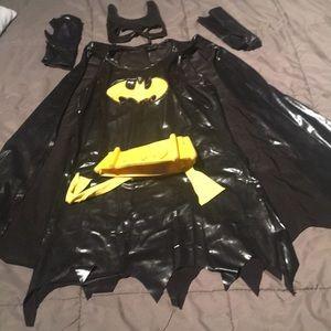Other - Girls batgirl Halloween Costume.